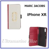 MARC JACOBS Snapshot Plain Leather Smart Phone Cases