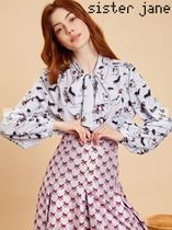 Sister Jane Long Sleeves Other Animal Patterns Shirts & Blouses