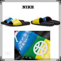 Nike Street Style Shower Shoes PVC Clothing Shower Sandals