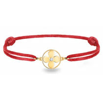 Louis Vuitton Flower 18K Gold Bracelets