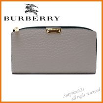 Burberry Leather Long Wallets