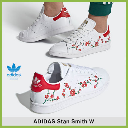 reputable site c6f1a bae7c adidas STAN SMITH 2019 SS Leather Low-Top Sneakers (EG2863)