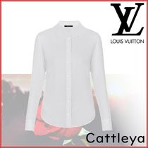 Louis Vuitton Silk Long Sleeves Plain Shirts & Blouses