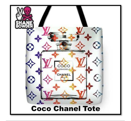 Casual Style Unisex Street Style Totes