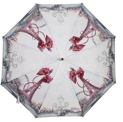Leopard Patterns Zigzag Umbrellas & Rain Goods