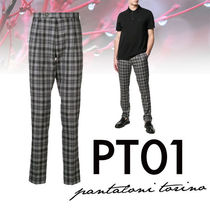 PT01 Tapered Pants Tartan Tapered Pants