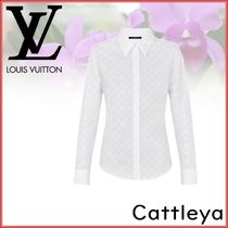 Louis Vuitton Monogram Silk Shirts & Blouses