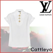 Louis Vuitton Cotton Short Sleeves Shirts & Blouses