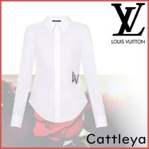 Louis Vuitton Plain Cotton Shirts & Blouses