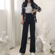 Casual Style Plain Long Pants