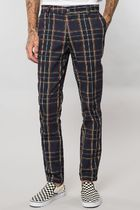 ELWOOD Tapered Pants Tartan Other Check Patterns Street Style