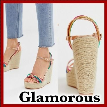 Open Toe Heeled Sandals