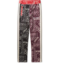 Palm Angels Tapered Pants Paisley Street Style Tapered Pants