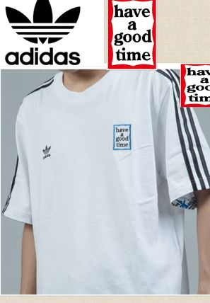 adidas More T-Shirts Street Style Collaboration Short Sleeves Oversized T-Shirts 5