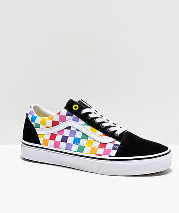 Gingham Other Plaid Patterns Street Style Sneakers