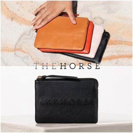 Plain Leather Clutches