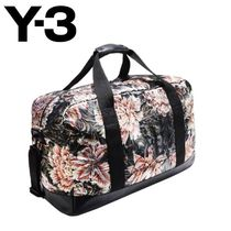 Y-3 Flower Patterns Boston Bags