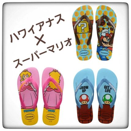 Unisex Collaboration Oversized Flipflop Sandals