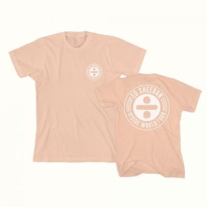 Unisex U-Neck Short Sleeves Logo T-Shirts