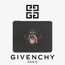 GIVENCHY Canvas Other Animal Patterns Clutches