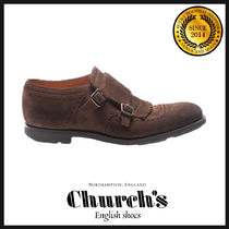 Church's Monk Suede Fringes Loafers & Slip-ons
