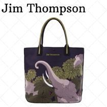 JIM THOMPSON Camouflage Canvas Blended Fabrics Other Animal Patterns