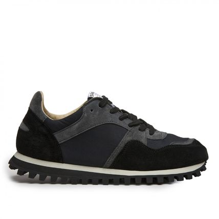 Unisex Suede Street Style Collaboration Sneakers