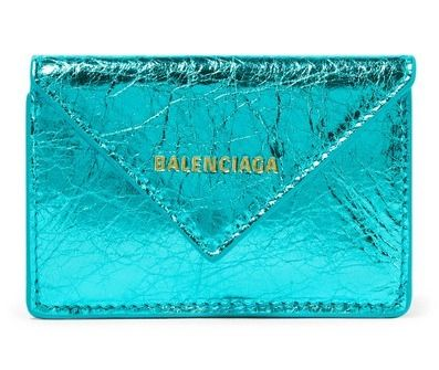 BALENCIAGA Folding Wallets Unisex Calfskin Blended Fabrics Plain Folding Wallets 6