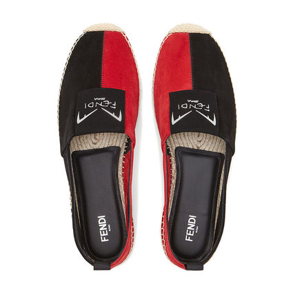 FENDI Loafers & Slip-ons Street Style Bi-color Leather Loafers & Slip-ons 5