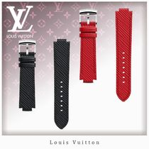 Louis Vuitton EPI Unisex Blended Fabrics Leather Watches