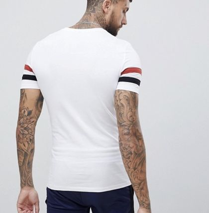 ASOS More T-Shirts Street Style Cotton Short Sleeves T-Shirts 3