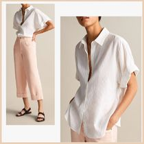Massimo Dutti Stripes Cotton Shirts & Blouses