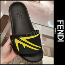 FENDI Street Style Plain Leather Sport Sandals Sports Sandals