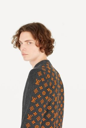 Louis Vuitton Knits & Sweaters Crew Neck Monogram Cashmere Long Sleeves Knits & Sweaters 3