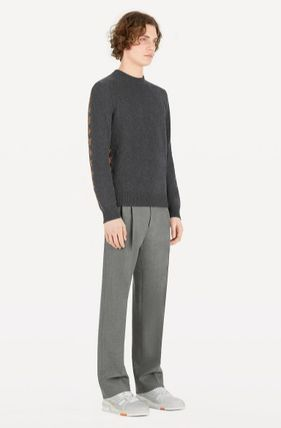 Louis Vuitton Knits & Sweaters Crew Neck Monogram Cashmere Long Sleeves Knits & Sweaters 4