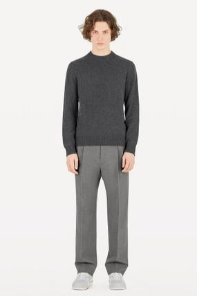 Louis Vuitton Knits & Sweaters Crew Neck Monogram Cashmere Long Sleeves Knits & Sweaters 6