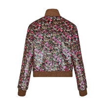 Louis Vuitton Short Flower Patterns Casual Style Wool Street Style Jackets