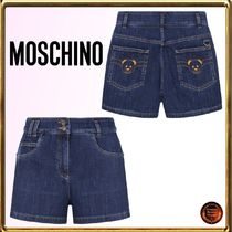 Moschino Short Casual Style Denim Other Animal Patterns