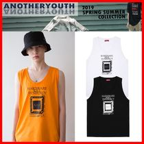 ANOTHERYOUTH Unisex Street Style Cotton Tanks