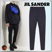 Jil Sander Tapered Pants Wool Plain Tapered Pants