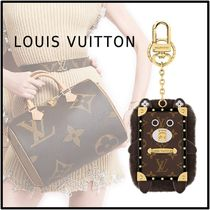 Louis Vuitton 2019-20AWWILD FUR EYE-TRUNK BEAR BAG CHARM AND KEY HOLDER