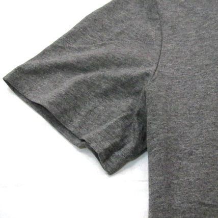 Ralph Lauren Crew Neck Crew Neck Pullovers Plain Cotton Short Sleeves 15