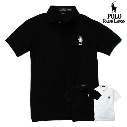 Ralph Lauren Polos Pullovers Plain Cotton Short Sleeves Polos