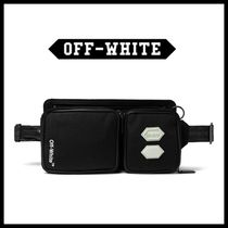 Off-White Street Style Hip Packs