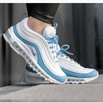 Nike AIR MAX 97 Plain Leather Low-Top Sneakers