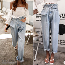 Denim Plain Long Jeans