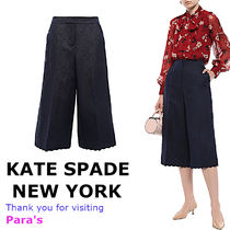 kate spade new york Silk Plain Medium Culottes & Gaucho Pants