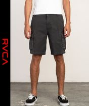 RVCA Camouflage Street Style Cargo Shorts