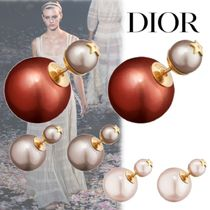 Christian Dior Elegant Style Earrings & Piercings