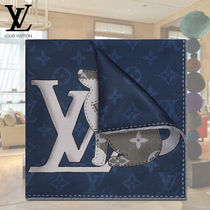 Louis Vuitton Silk Other Animal Patterns Handkerchief